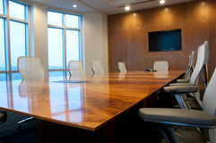 Interior of Conference Room. In New Office Building Stock Photography
