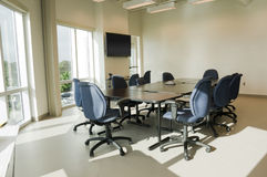 Interior of Conference Room Stock Photos