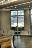 Interior of Conference Room Stock Images