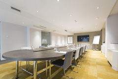 Interior of a conference room Royalty Free Stock Photography