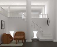 Interior confortável moderno Imagem de Stock