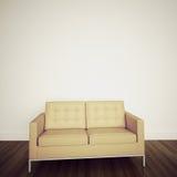 Interior confortável moderno com rendição 3d Fotos de Stock Royalty Free