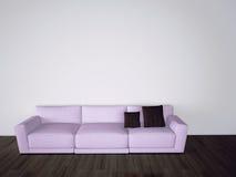 Interior confortável moderno com rendição 3d Imagem de Stock