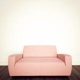 Interior confortável moderno com rendição 3d Fotos de Stock