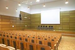 Interior of a Congress building Royalty Free Stock Photos