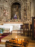 Interior of Constancia Mesiricordia church Stock Photography
