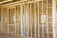 Interior Construction Framing Royalty Free Stock Photos