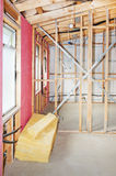 Interior of  construction  home Stock Images
