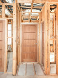 Interior of  construction  home Royalty Free Stock Photos