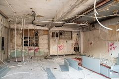 Interior construction royalty free stock photos