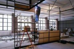 Interior construction site Royalty Free Stock Photo