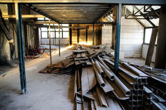 Interior construction site. In downtown of Jerusalem Royalty Free Stock Photography