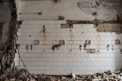 Interior constructivo abandonado Imagen de archivo libre de regalías