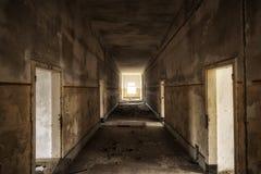 Interior constructivo abandonado Fotografía de archivo libre de regalías