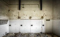 Interior constructivo abandonado Imagen de archivo
