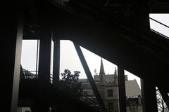 Interior constructivo de Leadenhall Imagen de archivo