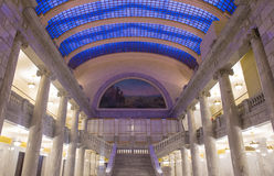 Interior constructivo del capitolio del estado de Utah Foto de archivo libre de regalías