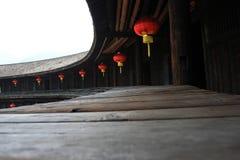 Interior constructivo del suelo de Hakkas fotografía de archivo libre de regalías