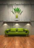 Interior contemporáneo 02 imagen de archivo libre de regalías