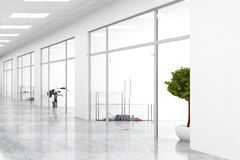 Interior contemporâneo com copyspace Imagem de Stock Royalty Free