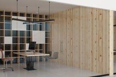 Interior contemporâneo do escritório Fotos de Stock Royalty Free