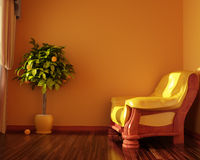 Interior convenient room Royalty Free Stock Photo