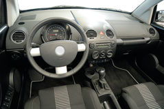 Interior of a convertible Stock Image