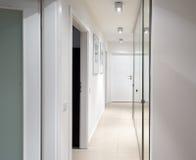 Interior corridor design Royalty Free Stock Photography