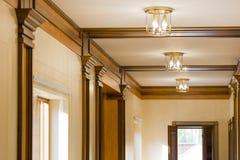 Free Interior Corridor In Ecological House Stock Photography - 61045452