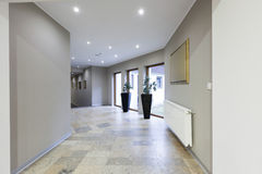 Interior of a corridor in luxury hotel Royalty Free Stock Photos
