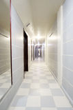 Interior of a corridor Royalty Free Stock Images