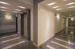 Interior corridor os a luxury apartment building Royalty Free Stock Photography