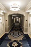 Interior corridor in the Palazzo Las Vegas. The Palazzo is a luxury hotel and casino resort located on the Las Vegas Strip in Paradise, Nevada. It is the stock photography