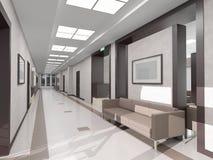 Interior corridor Royalty Free Stock Photography