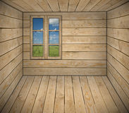 Interior of cottage room Royalty Free Stock Image