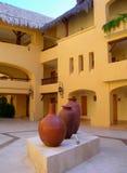 Interior court of resort Royalty Free Stock Photos