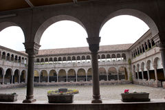 Interior Courtyard In Cusco Stock Images