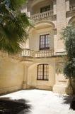 Interior courtyard vilhena palace mdina malta Royalty Free Stock Image