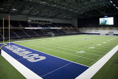 Interior of Cowboy practice facility in Ford Center. Cowboy practice facility in Ford Center, Frisco TX USA Stock Images