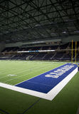 Interior of Cowboy practice facility in Ford Center Royalty Free Stock Photos