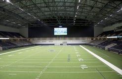 Interior of Cowboy practice facility TX Stock Photography