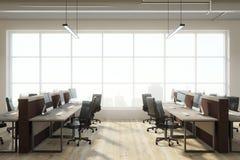 Interior coworking moderno do escritório Imagens de Stock Royalty Free