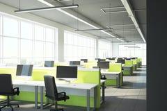 Interior coworking novo do escritório Fotos de Stock Royalty Free