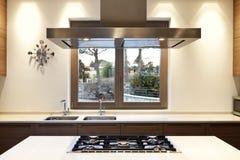 Interior, cozinha Fotos de Stock