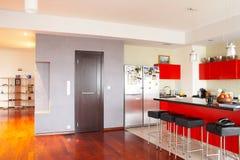 Interior. Cozinha Imagens de Stock