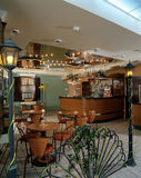 Interior of a cozy cafe Royalty Free Stock Photography