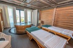 Interior of cozy luxurious spa Stock Photos