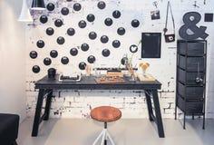 Interior of creative home studio Stock Photography