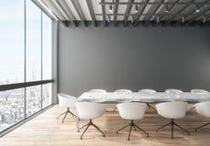 Interior creativo de la sala de reunión ilustración del vector
