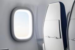Interior criativo do avião Fotografia de Stock Royalty Free